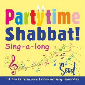 Partytime Shabbat CD cover 1